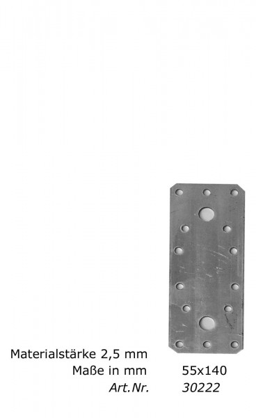 Flachverbinder/Nagelplatte