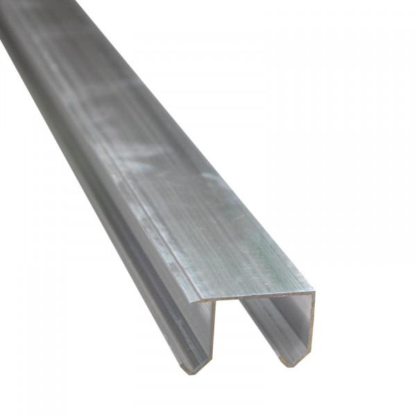 Decken-Doppellaufschienen aus Aluminium