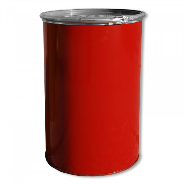 Deckelfass 213 Liter rot