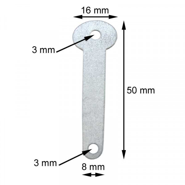 10 Stück Sicherungssplinte aus Metall und Plastik für Eimer und Fässer mit Spannring