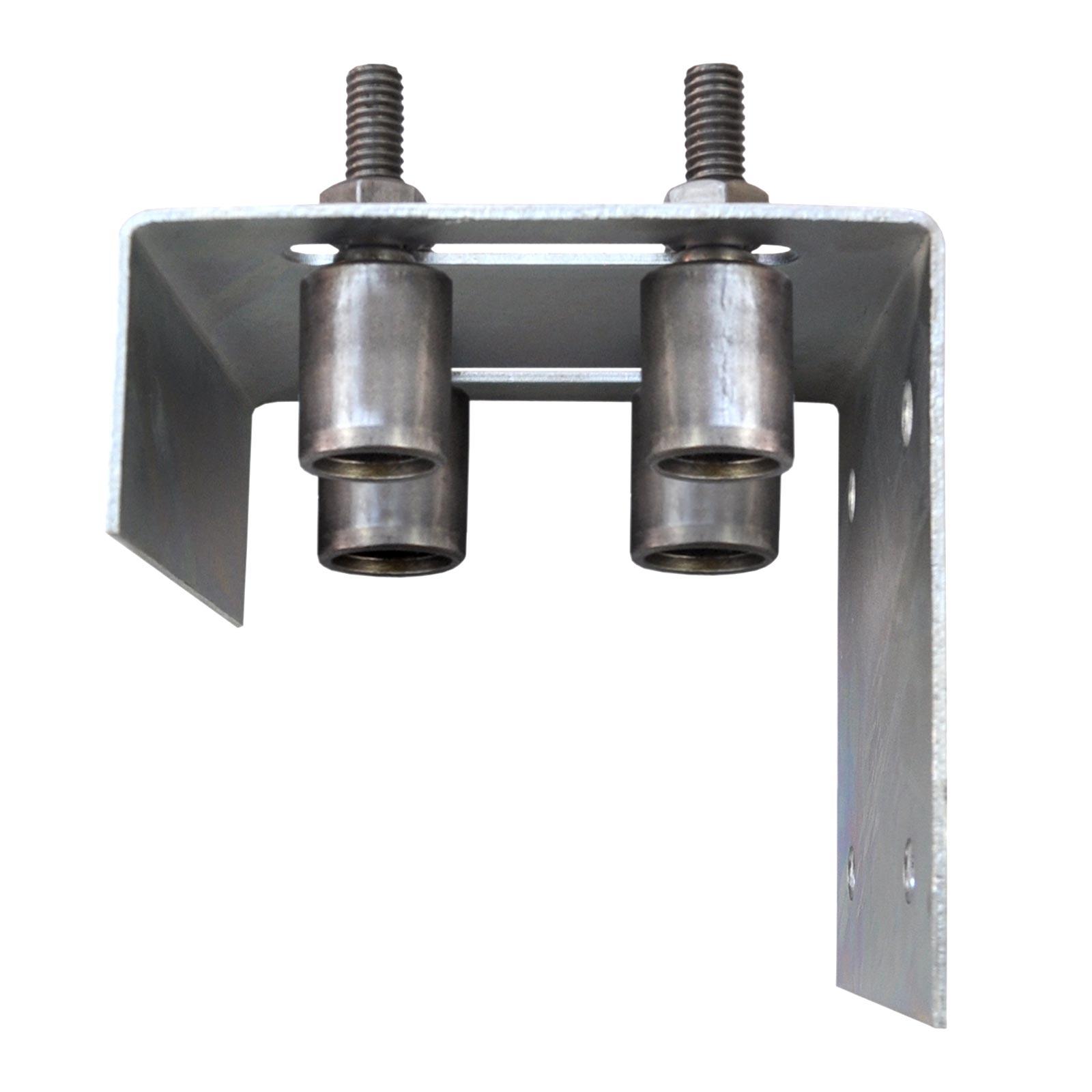 Fuhrungsbock Breit Mit 4 Fuhrungsrollen Aus Stahl O37