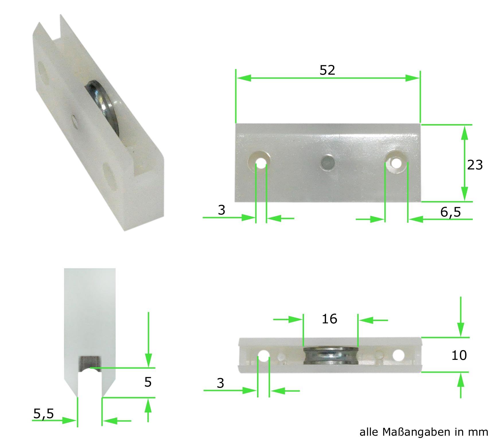 Rouleau pour porte coulissante sur rail au sol meuble - Portes coulissantes sans rail au sol ...